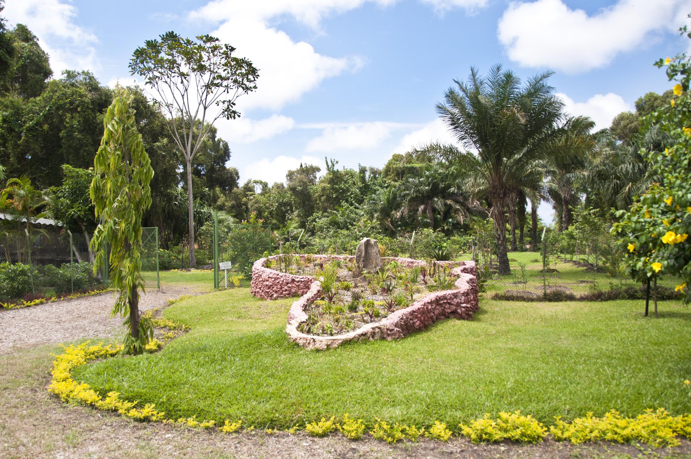 Jardin de l'Hotel du Parc