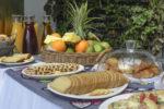 Le petit-déjeuner de l'Hôtel du Parc de Port-Gentil