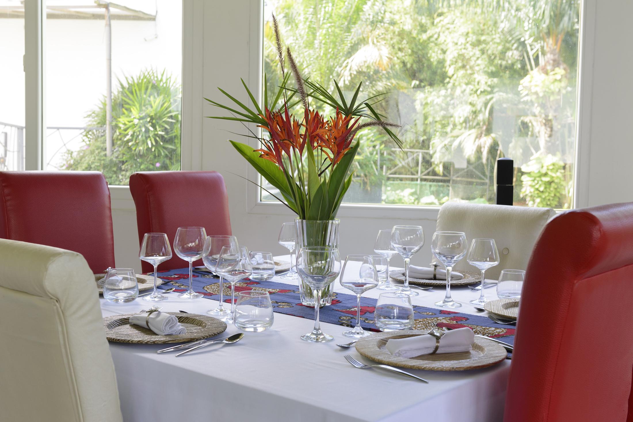 Salle VIP Eden Restaurant Hotel du Parc Port-Gentil Gabon