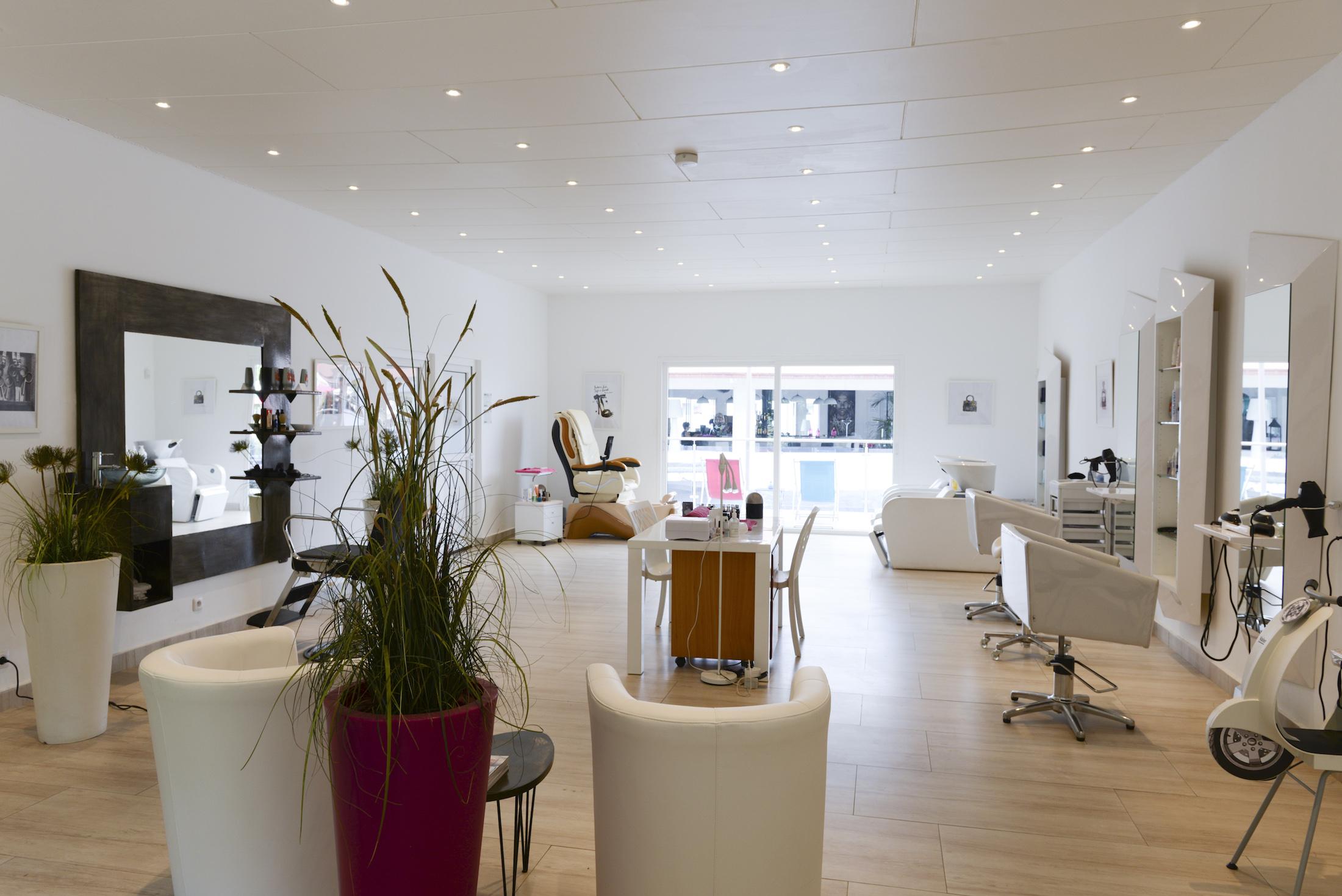 Salon coiffure Eden Wellness Hotel du Parc Port-Gentil Gabon