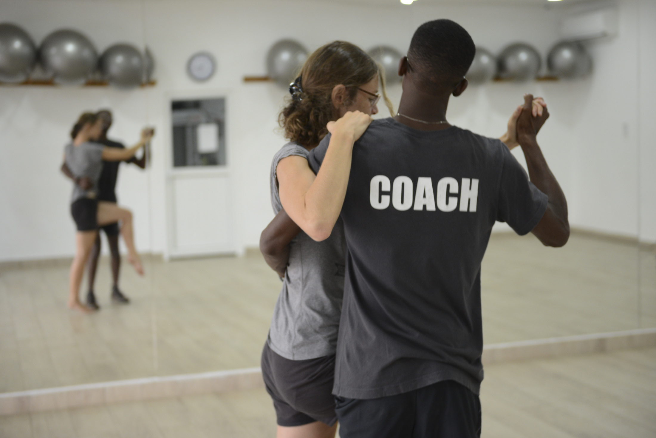 Cours de danse à l'Eden Sport Hôtel du Parc Port-Gentil