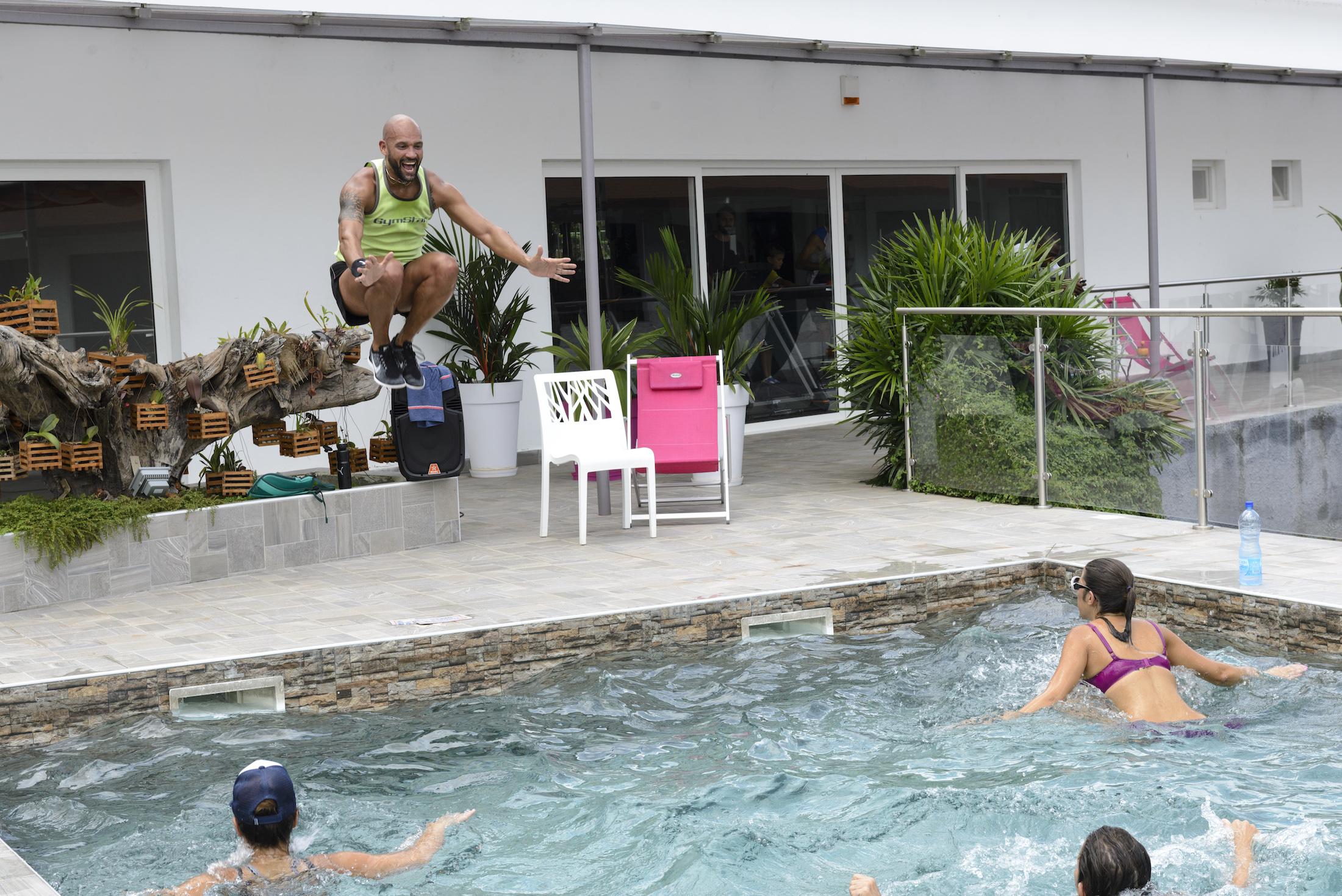 Aquabike Eden Sport Hôtel du Parc Port-gentil
